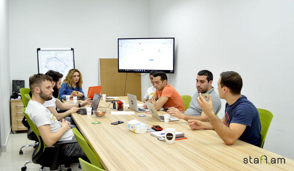 Scrum Meeting Joomag Armenia -ում