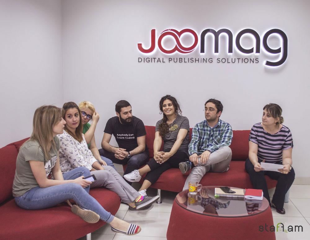 Joomag Armenia թիմի անդամները