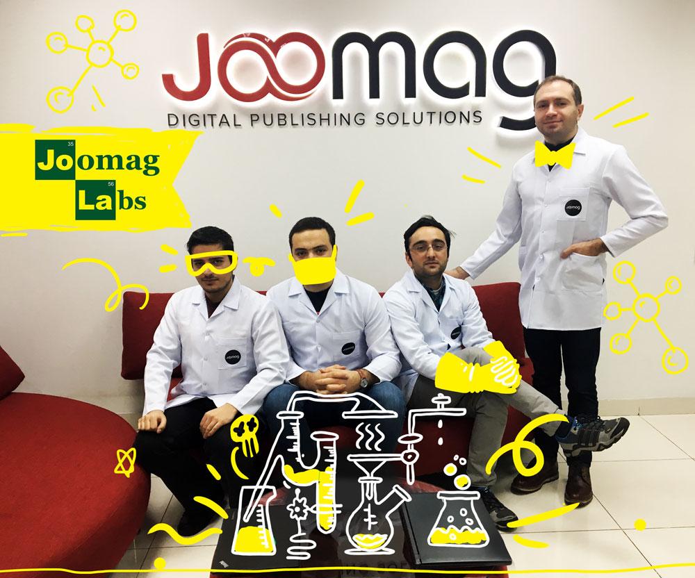 JoomagLabs՝ նոր տեխնոլոգիաների հետազոտության և կիրառման միջավայր
