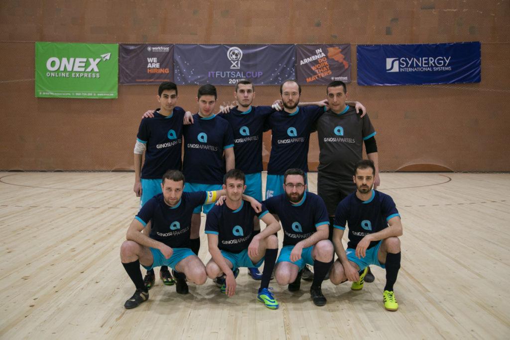Գինոսի ընկերության ֆուտբոլային թիմը