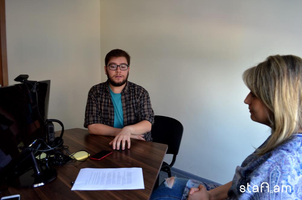 Գայլ Խանդիկյանը ԱՄՆ-ից Հայաստան է տեղափոխվել անցյալ տարի և այժմ պատասխանատու է Գինոսիի հաղորդակցման բաժնի համար