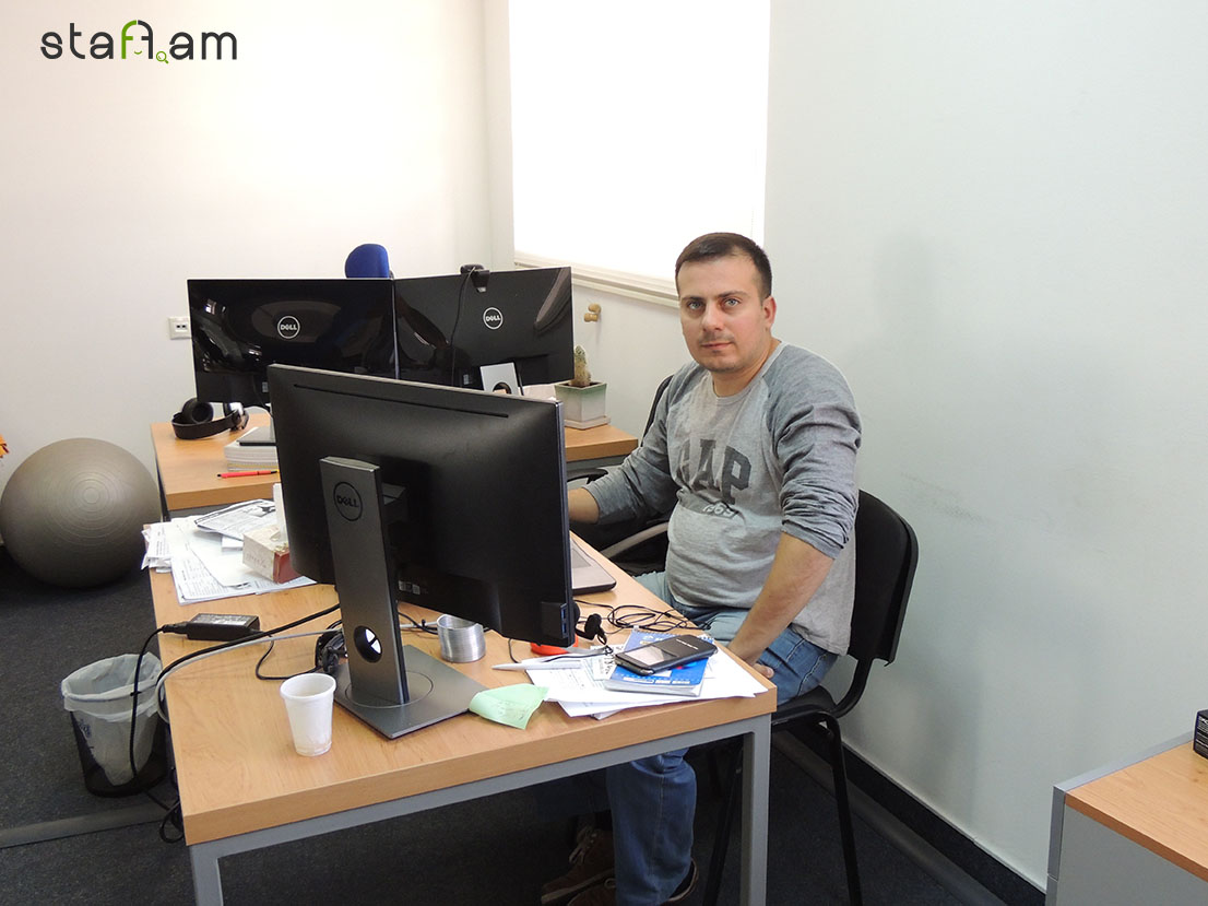 Գևորգ Իսկանդարյան, Principal Product Test Engineer - Team Leader