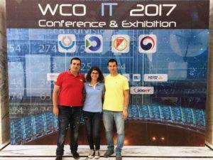 Վարդանը, Սիրանույշը և Արթինը Թբիլիսիում՝ Համաշխարհային Մաքսային կազմակերպության ՏՏ Կոնֆերանսին