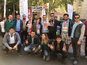 Team-building. Երևան կիսամարաթոնի մեր թիմը