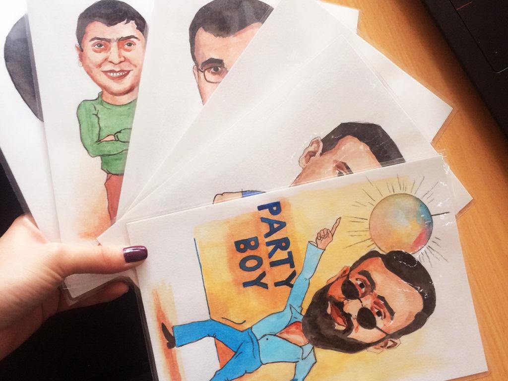 Աղջիկների անակընկալը տղաներին՝ ծաղրանկարներ