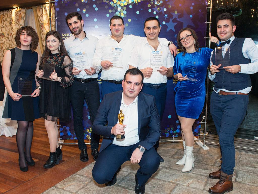 Ամանորյա կորպորատիվ միջոցառում․տարվա մրցանակակիրները