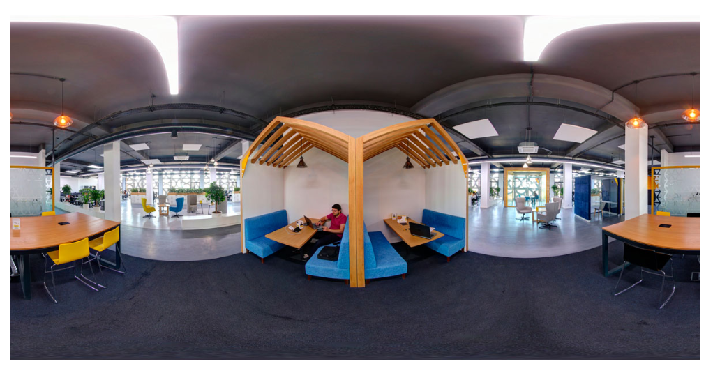 open space in 360 degree